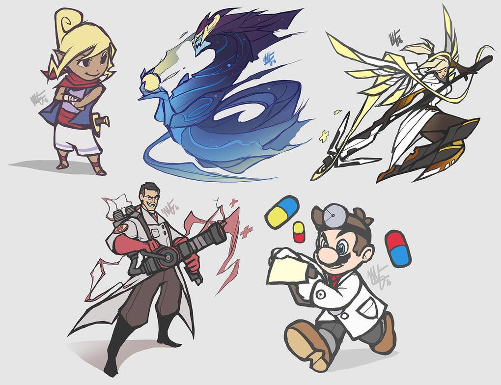 Random Doodles 3 by VegaColors