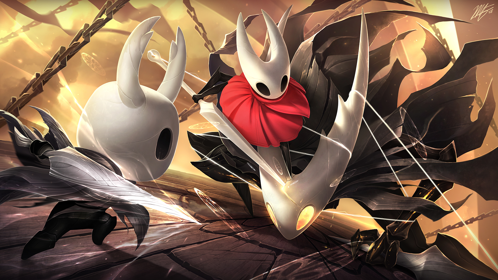 Hollow Knight By Vegacolors On Deviantart