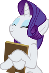 Rarity Hugs A Picture