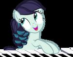 Rara Plays on a Piano