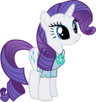 Rarity dressed as mistmane by IronM17
