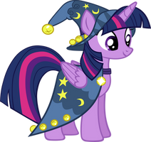 Twilight Dressed As Star Swirl by IronM17