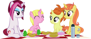 Picnic In Canterlot by IronM17