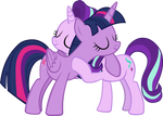 Starlight Hugs Twilight