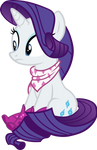 Rarity With Boots and Bandana