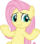 Shrugging Fluttershy