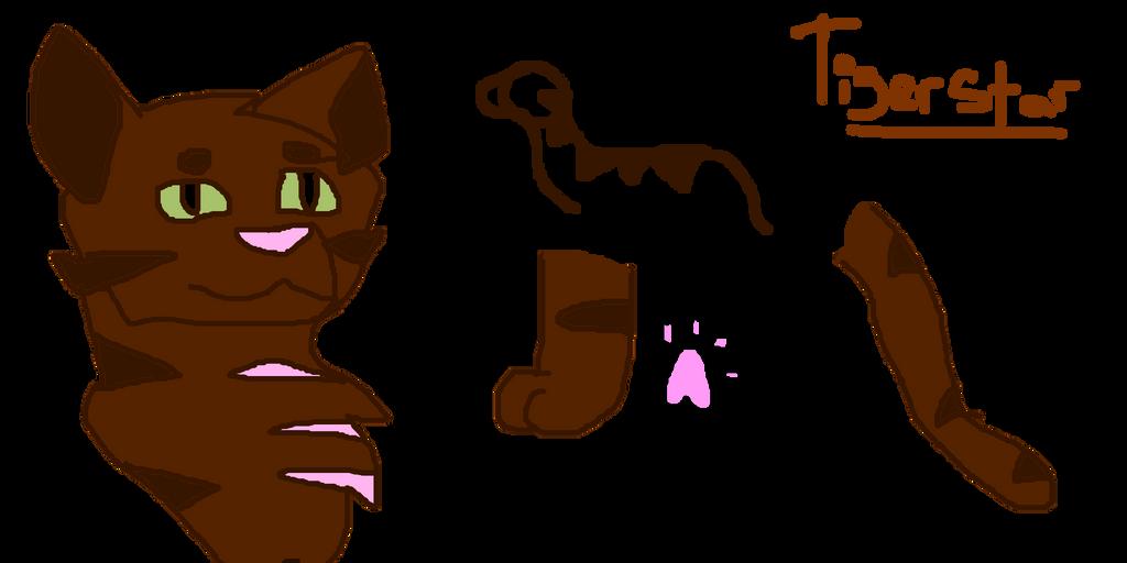 Tigerstar Ref by MistyMidnights