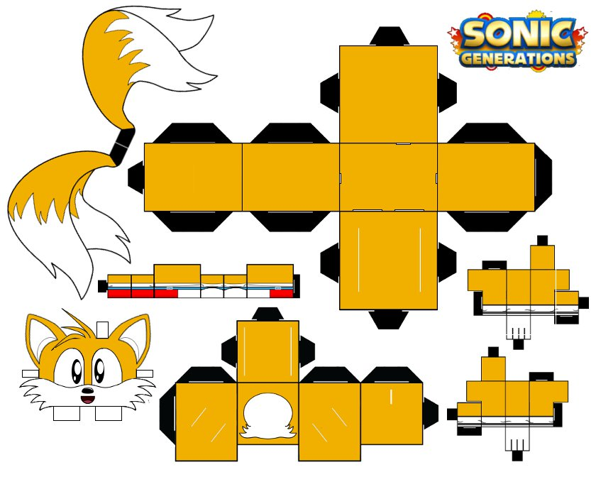 Classic Tails by mikeyplater on DeviantArt