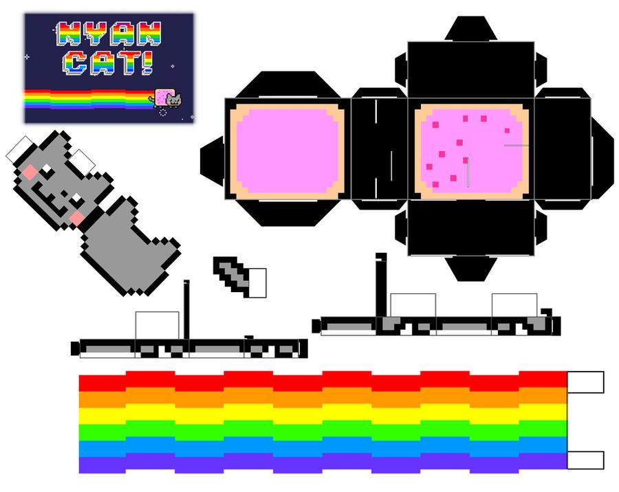 Cubeecraft Nyan Cat
