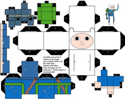 Finn Alternate Cubee, Season 5 Episode 1 by mikeyplater