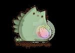 Pregnant Pusheenosaurus