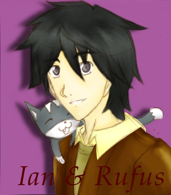 Ian and Rufus by KoKitsuneMimi