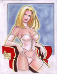 Emma Frost -White Queen- by Rodel Martin