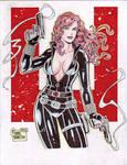 Black Widow (#1) by Rodel Martin