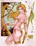 Jungle Girl (#3) by Rodel Martin