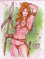 Jungle Girl (#5) REVISED by Rodel Martin by VMIFerrari