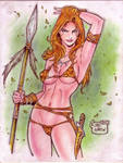 Jungle Girl (#5) REVISED by Rodel Martin