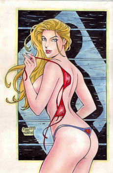 Supergirl (#14C) (COLOR) by Rodel Martin