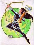 'Cartoon' Arya Shadeslayer (#1C) FINAL by Rodel M.