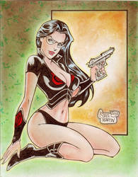 The Baroness (#8) by Rodel Martin by VMIFerrari