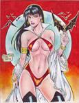 Vampirella (#5) by Rodel Martin