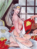 Wonder Woman (#13) by Rodel Martin by VMIFerrari