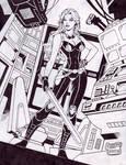 Mara Jade Skywalker (#2B) -INKED- by Rodel Martin