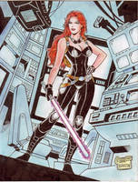 Mara Jade Skywalker (#2C) -FINAL- by Rodel Martin by VMIFerrari