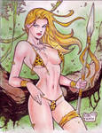 Jungle Girl (#9) by Rodel Martin