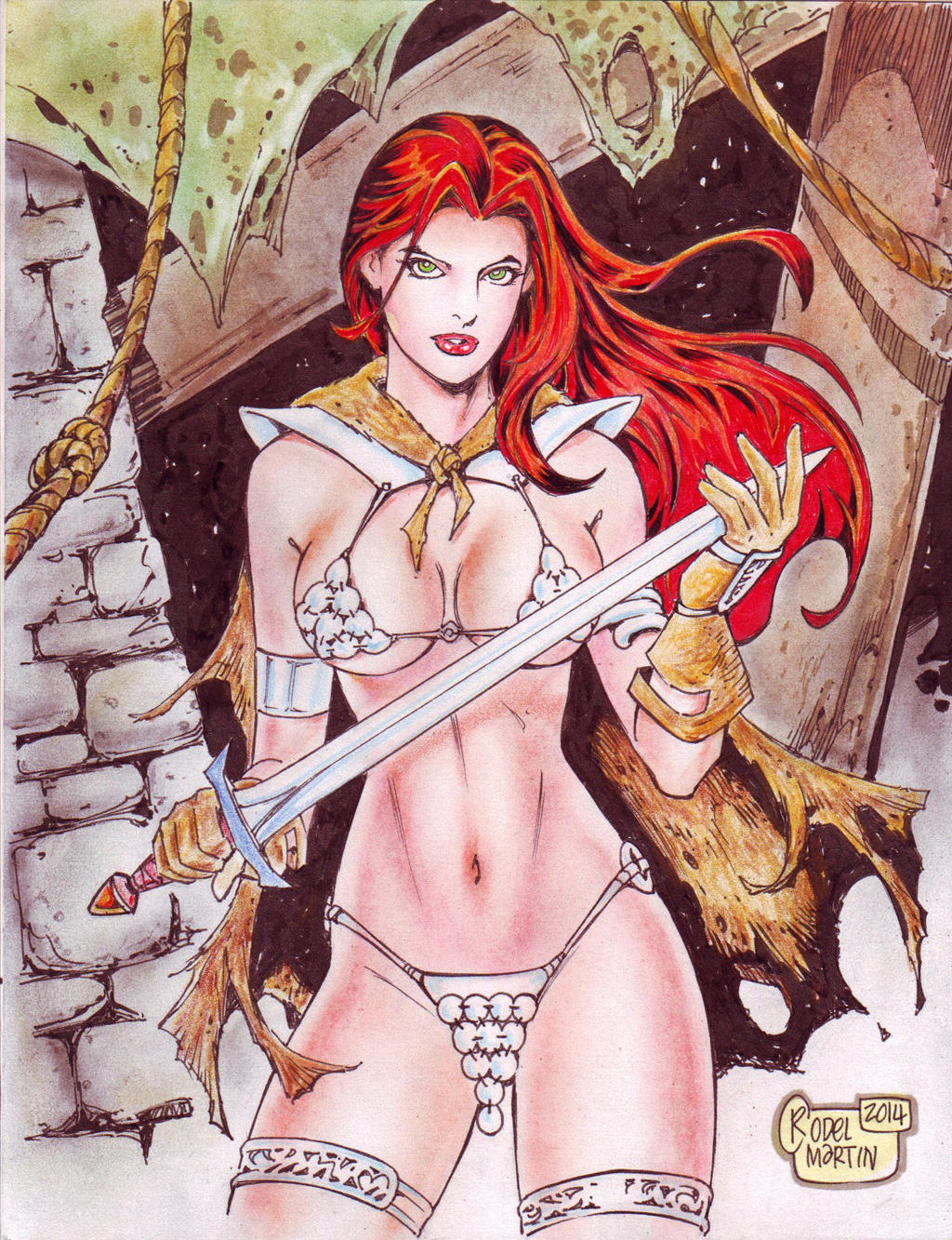 red sonja porno chat seuraa