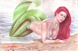 Sexy Ariel (The Little Mermaid) (#1) by JD Felipe by VMIFerrari