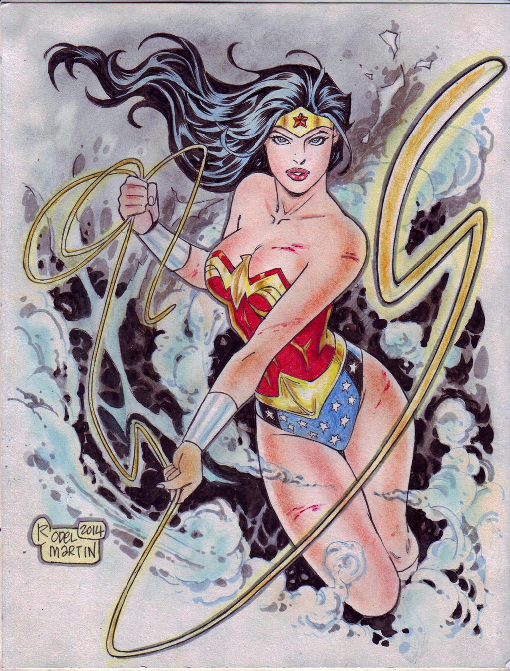 Wonder Woman (#22) by Rodel Martin by VMIFerrari