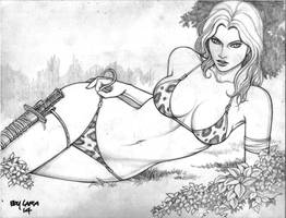 Jungle Girl (#24) by Boy Lara by VMIFerrari