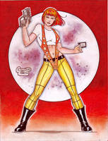 LeeLoo (The Fifth Element) (#1C) COLOR by Rodel M. by VMIFerrari