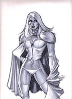 Emma Frost (White Queen) (#1) by Scott D. by VMIFerrari