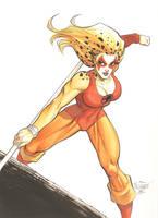 Cheetara (Thundercats) (#1) by Scott D. by VMIFerrari