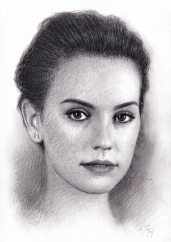 Daisy Ridley (#1) by Andrew Fry