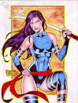 Psylocke (#15) by Rodel Martin