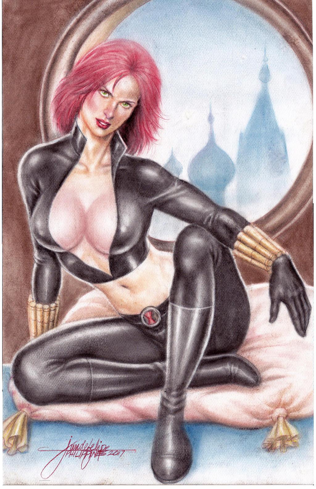 Black Widow (#5) by J.D. Felipe by VMIFerrari