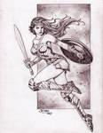 Wonder Woman (#46) by Rodel Martin (Jethro)