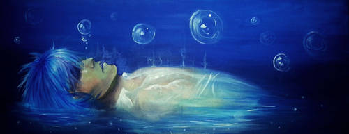 Deep Blue Magic by Murdersushi