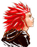 Axel sketch by Murdersushi
