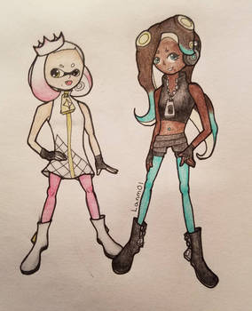 Pearl and Marina