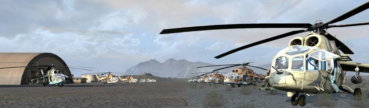 Mi24-A, Krokodil - ARMA 2 & OA - ADDONS & MODS: COMPLETE
