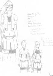 Airi Tanaka Ninja Profile by Talyn-Vega
