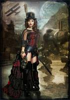 Steampunk Slayer by gregd-photography