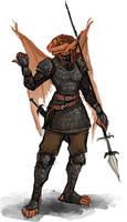 Dragonborn Blackguard
