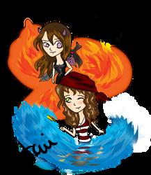 Kaylee and Achiko BFF