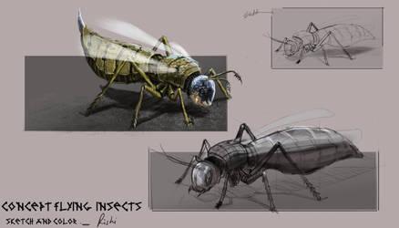 Insect study by HRishiraj