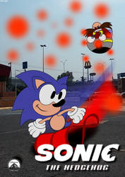 Sonic Movie Poster by monachao